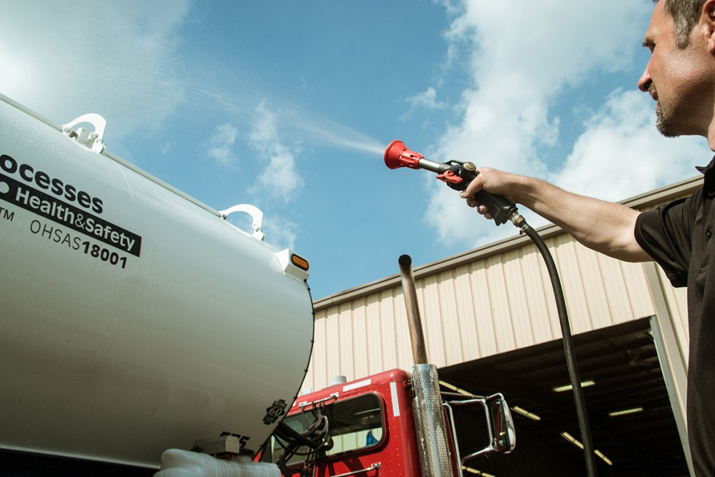Truck Disinfect System Can Help Prevent HPAI Spread
